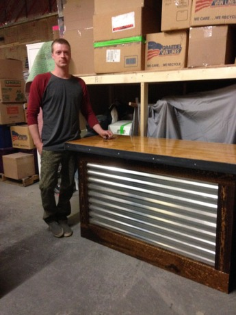 Custom Built Service Counter